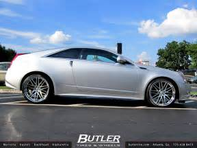 Cadillac With Rims Butler Tire Shows A Cadillac Cts Coupe Doing Donuts