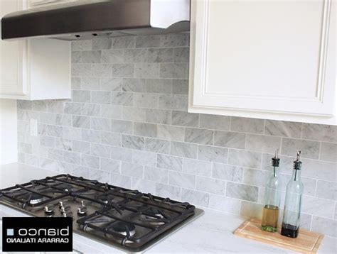 carrara marble kitchen backsplash carrara marble backsplash kitchen backsplash marble subway
