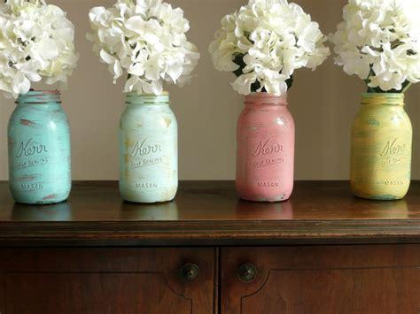Painted Jar Vases by Painted Jar Vases Diy Bricolage