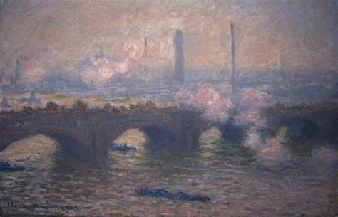 A Grey Day by File Claude Monet Waterloo Bridge Gray Day Jpg