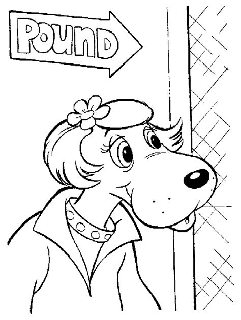 Pound Puppy Coloring Sheets Coloring Pages Pound Puppies Coloring Pages