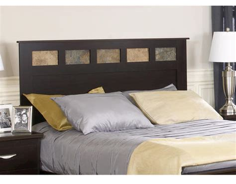 menards headboards dakota 64 quot prefinished espresso queen headboard at menards 174