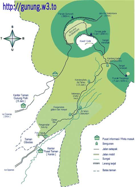 MAPALA NEGARA DIPA STIA AMUNTAI: Peta Gunung dan Rute