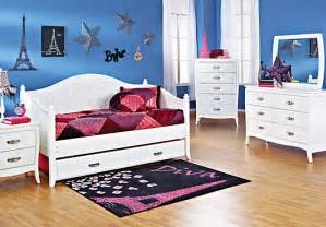 noir white 5 pc daybed bedroom bedroom sets