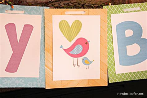 create a free printable birthday banner create free printable banners bird themed birthday party