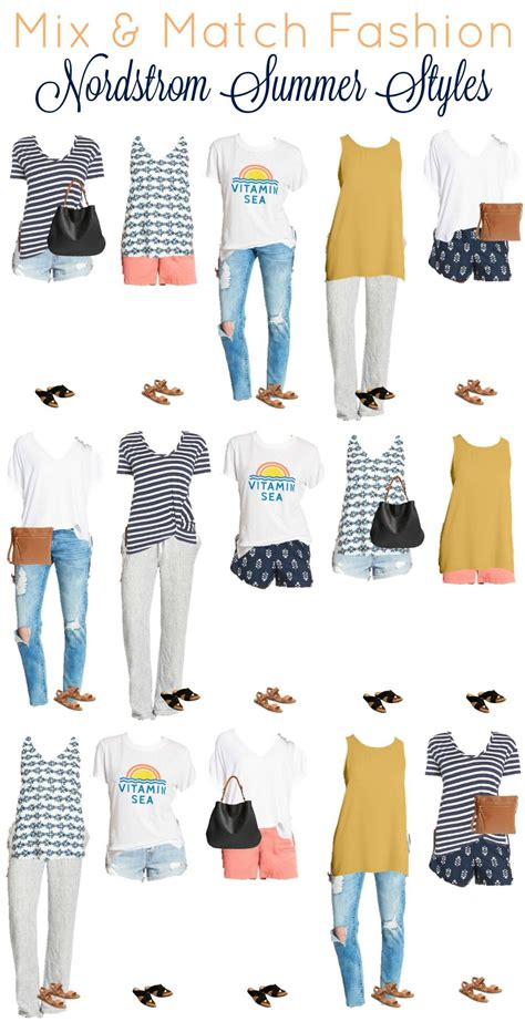 work clothes on pinterest capsule wardrobe nordstrom summer mix and match wardrobe from nordstrom