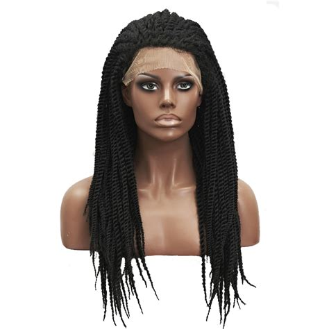 crochet with marley braid hair wig fashion havana mambo twist lace front wig crochet braid