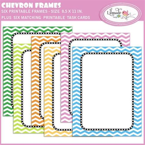 task card template editable items similar to chevron lesson plan covers and task cards