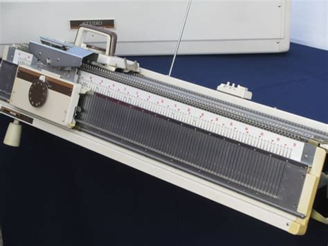 chunky knitting machine complete studio chunky knitting machine w ribber frame