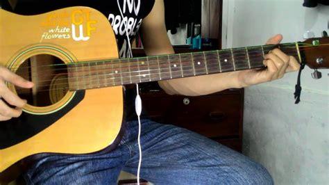 tutorial belajar memetik gitar belajar tutorial petikan intro gitar drive melepasmu dan