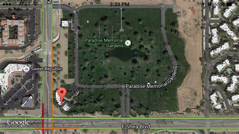 Paradise Memorial Gardens by 3 Paradise Memorial Gardens 9300 E Shea Blvd