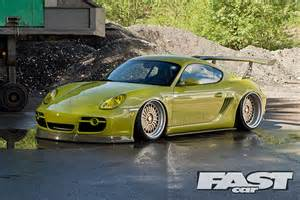 Porsche Cayman Modified Porsche Cayman S 987 Fast Car