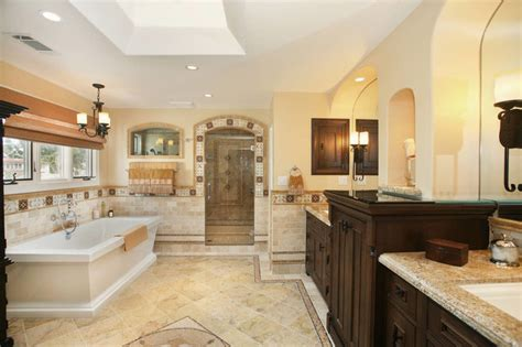 spanish bathroom design spanish revival master bath mediterranean bathroom