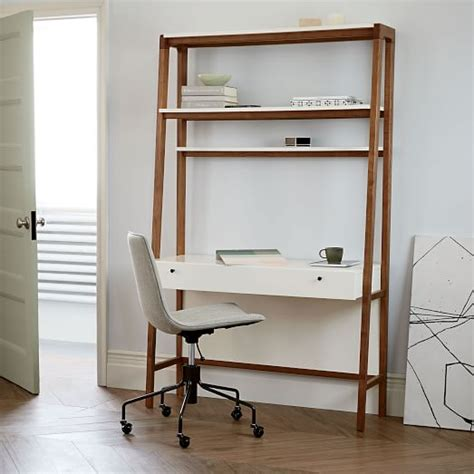 modern wall desk west elm