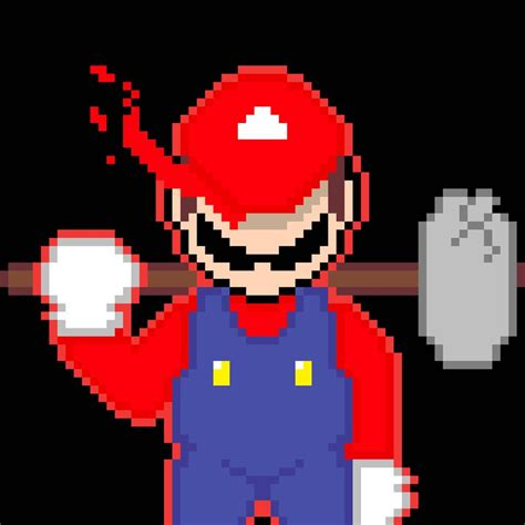 super mario pixel art by sullyvancraft on deviantart super mario by omegadestroyer0 on deviantart