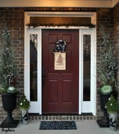 Brick House Front Door Design And Decor Will This Tree Stop Blowing Away