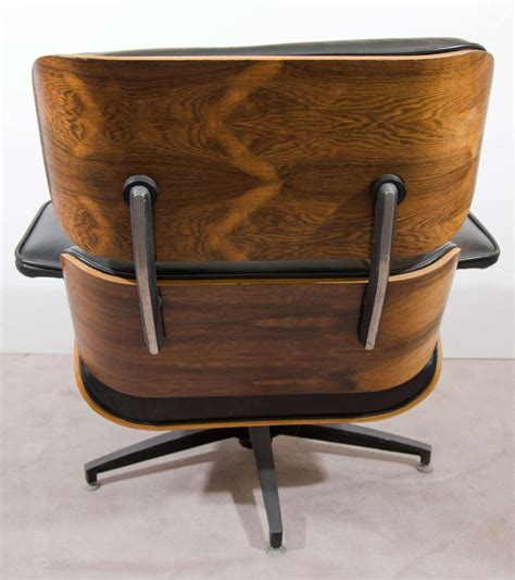 eames style chair and ottoman midcentury eames style lounge chair and ottoman at 1stdibs