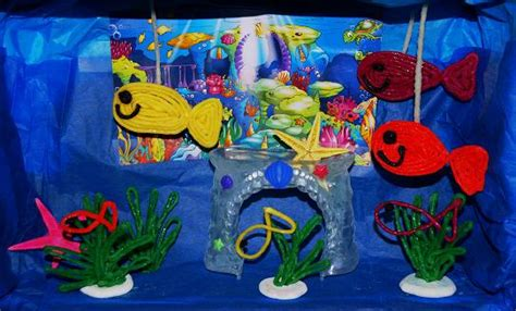 printable fish for diorama wikki stix ocean themed activities for kids wikki stix