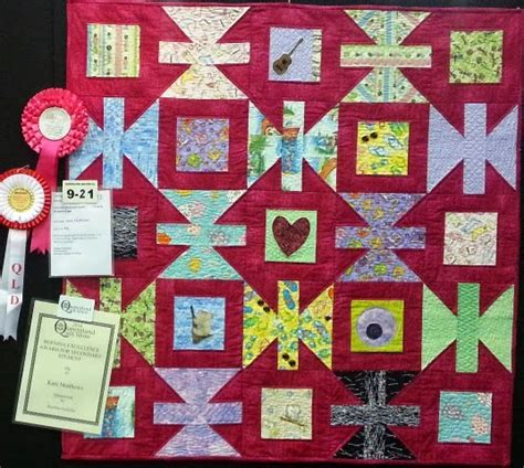 Brisbane Craft And Quilt Fair by Punch With Judy S Quilts From Students At Brisbane Craft Quilt Fair