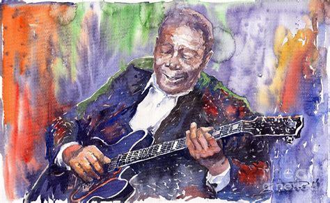 jazz artists biography jazz b b king 06 painting by yuriy shevchuk