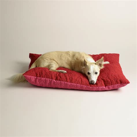 bed and bone red bone custom name dog bed zazzle dog beds and costumes