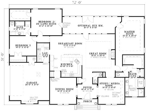house plans two master suites plan 59638nd two master suites wolfie 2 master bedrooms