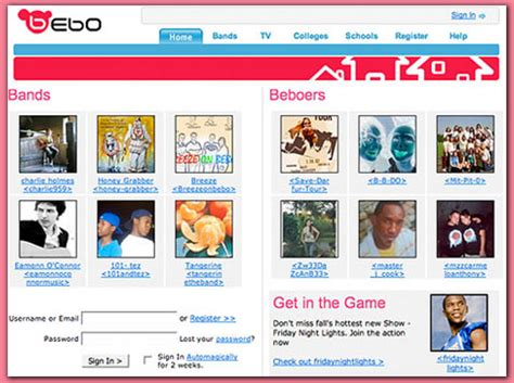 Find On Bebo Bebo Beats And Myspace To Be Named Best Social Networking Website Daily