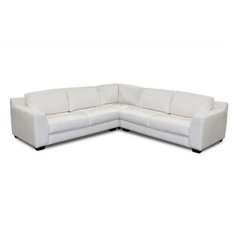 L Shaped White Leather Sofa Zen White Leather L Shaped Sectional Sofa With Square Corner Polyvore