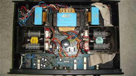amc cvt tube integrated amplifier sold