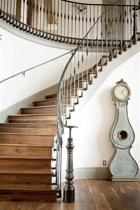Stair Banisters For Sale by Superb Grandfather Clocks For Sale In Staircase Traditional With Traditional Split Level