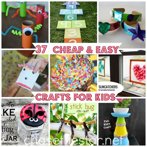 cheap arts and crafts for 37 cheap and easy crafts for