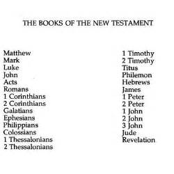 books of the bible new testament memrise