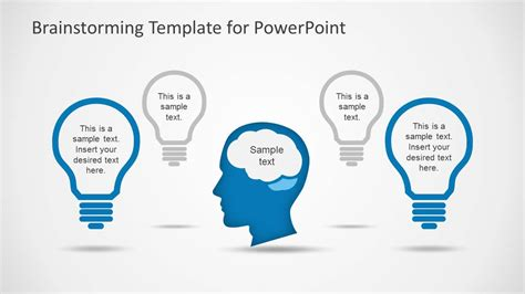brainstorm template brainstorming template powerpoint images