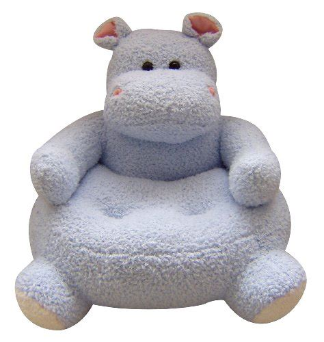 Animal Plush Chair by 23 X21 Easter Plush Animal Chair Hippo Design Light Blue