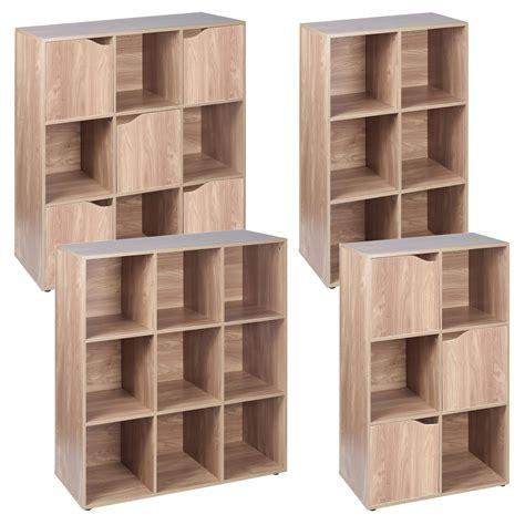 6 shelf oak bookcase 6 9 cube oak modular bookcase shelving display shelf