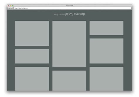 jquery page layout design 48 best responsive jquery plugins web graphic design
