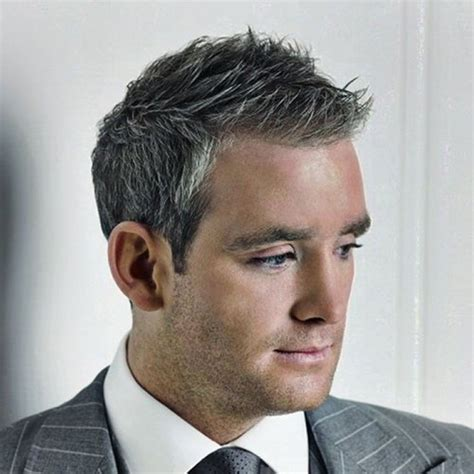 mens hair styles to hide grey area simple hairstyle for mens grey hairstyles hairstyles for