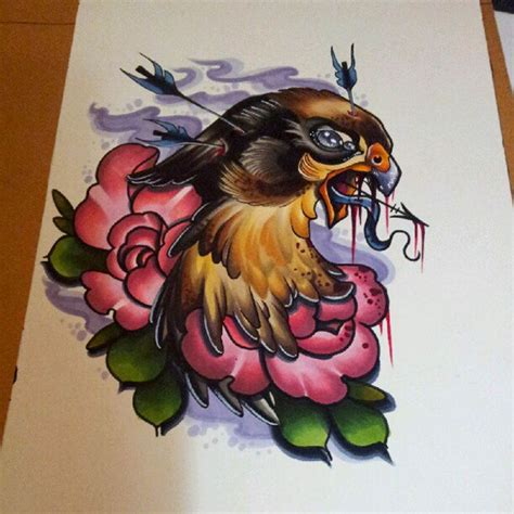 melanie tattoo designs by melanie muntean the colors are beautiful drawing