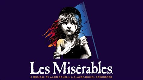 Play To The End les mis 233 rables musical and logo fonts in use