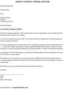 Overseas Offer Letters Offer Letter Sle Template Resume Builder