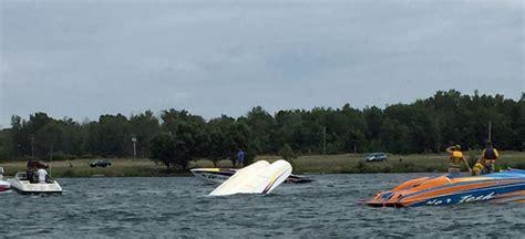 boats for sale western ny boat flips during buffalo poker run