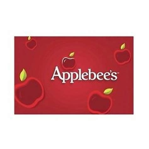 Applebee S Gift Card Special - 50 for 60 applebee s gift card email delivery 50 00