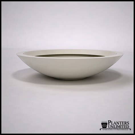 modern bowl 48 quot dia x 11 quot h modern low bowl planter