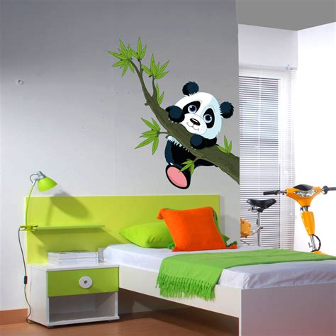 Decal Wall Stickers Uk stickers panda pas cher