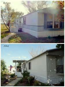 painting a mobile home painted mobile home mobile makeovers