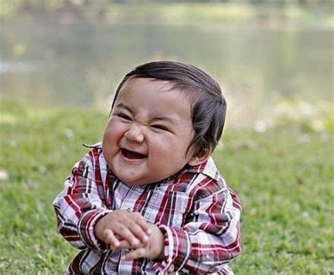 Evil Toddler Meme - evil plan baby meme generator
