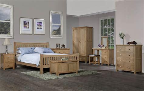grasmere light oak 4ft6 quot double bed oak furniture uk