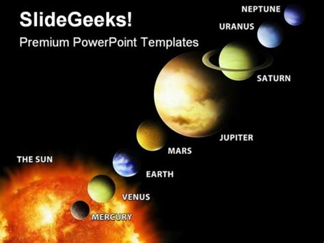 themes smf español solar system powerpoint template