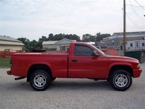 dodge dakota 2 door find used 2004 dodge dakota sport standard cab 2