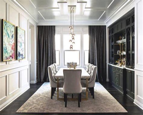 Black Dining Room Drapes 12 Dining Room Decor Ideas Hgtv S Decorating